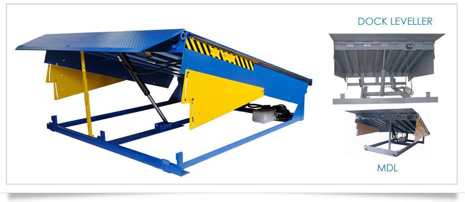 Dock Leveler Equipments Mobile Levellers